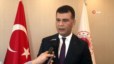 Adalet Bakanlığı Sözcüsü Çekin, ' Biz bütün enerjimizi 2 yıl içinde bütün faaliyetleri tamamlamaya odaklanmış şekilde harcıyoruz'