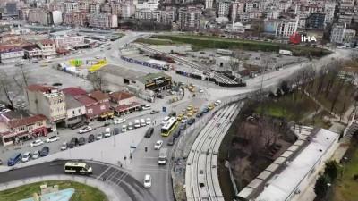 yerel secimler -  Eminönü-Alibeyköy Tramvay Hattı'nda çalışmalar durma noktasına geldi