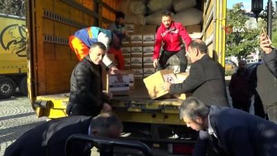 yardim kampanyasi -  Esenyurt'tan deprem bölgesine gönül köprüsü kuruldu