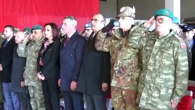 devir teslim -  - Kosova'da görev yapan Türk askerinde devir teslim töreni
