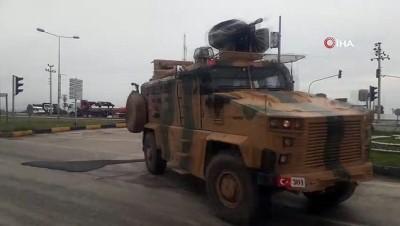 dolar -  Sınıra zırhlı araç ve komando sevkiyatı