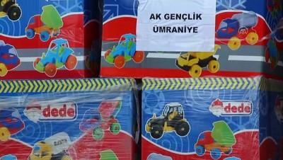 AK Partili gençler depremzede çocuklara oyuncak gönderdi - İSTANBUL