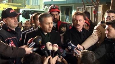 hassasiyet -  İstanbul Valisi Yerlikaya'dan Bahçelievler'de çöken binaya ilişkin açıklama
