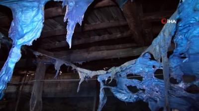 alabalik -  Kahramanmaraş'ta ahır yangını: 245 keçi ve yavrusu telef oldu
