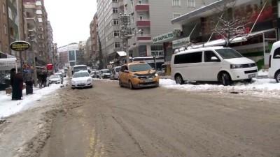 sili - Kar ulaşımını olumsuz etkiledi - MARDİN
