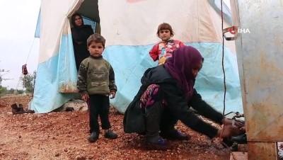 - Kötü hava koşulları 800 bin Suriyeliyi etkiledi