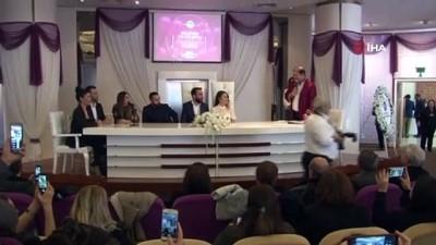 uttu -  Maltepe'de 14 çift, 14 Şubat'ta bir ömür boyu mutluluğa evet dedi