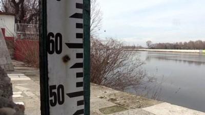 nani - Meriç Nehri en düşük seviyelerinde akıyor - EDİRNE