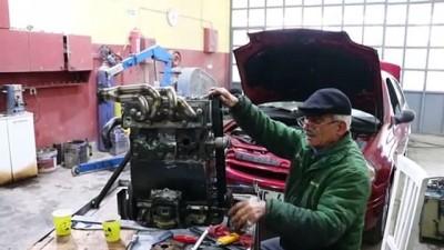 Tamircinin yakıt tasarrufu için tasarladığı motoru yetkililer inceledi - TEKİRDAĞ