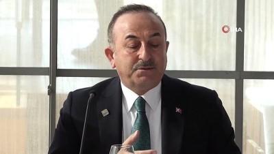 """- Dışişleri Bakanı Çavuşoğlu: """"Tüm çözüm çalışmalarına rağmen Rusya'nın da desteğiyle, rejim İdlib'de saldırılara devam ediyor"""""""