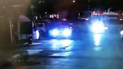 polis merkezi -  Esenyurt'ta TEM'de trafik kavgası kamerada