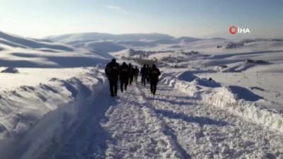 sili -  İran sınırında 13 düzensiz göçmenin donduğu ihbarı ekipleri harekete geçirdi