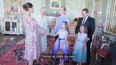 isvec -  - İsveç Prensesi Victoria ölümü bekleyen çocuğun hayalini gerçekleştirdi