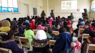 """cakal -  - MSB :""""Barış Pınarı Bölgesindeki çocuklara mayın/EYP'den korunma eğitimi verildi"""""""