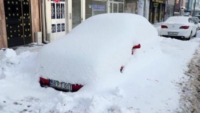 uttu - Soğuk hava nedeniyle Kızılırmak'ın yüzeyi buz tuttu - SİVAS
