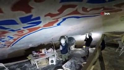 hassasiyet -  Sultanahmet Camii restorasyonu yüzde 30'u geçti