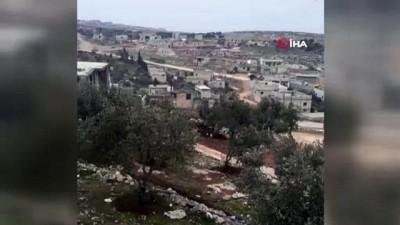 lyon -  - Türk Konvoyunu gören Suriyeli vatandaş: 'Artık göç etmeyeceğiz'
