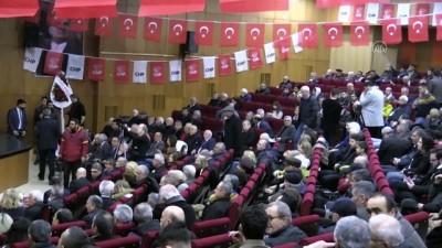 CHP'li Fethi Açıkel CHP Bolu İl Olağan Kongresi'ne katıldı - BOLU