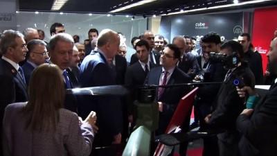 acilis toreni - Cumhurbaşkanı Erdoğan, Teknopark-İstanbul 2. Etap açılış töreni öncesi incelemelerde bulundu - İSTANBUL