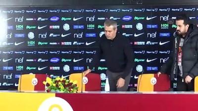 Galatasaray - BtcTurk Yeni Malatyaspor maçının ardından - Kemal Özdeş - İSTANBUL