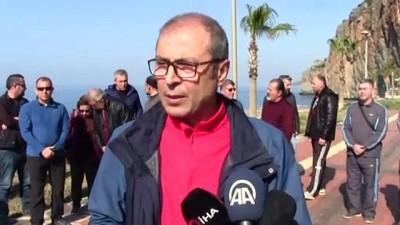 basin aciklamasi - Gazipaşa'da imar planına tepki gösterenler eylem yaptı - ANTALYA