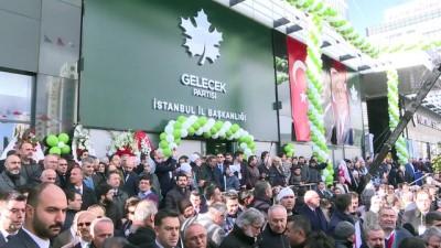 il baskanlari - Gelecek Partisi İstanbul İl Başkanlığı açıldı - İSTANBUL