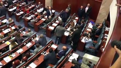 Kuzey Makedonya Meclisi feshedildi - ÜSKÜP