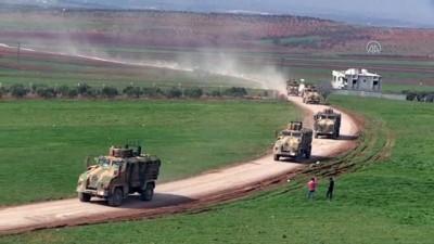 dolar - Suriye sınırına 100 araçlık askeri sevkiyat