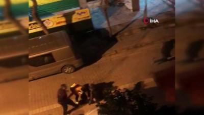 polis merkezi -  Avcılar'da iki gencin öldüresiye dövüldüğü sopalı, sandalyeli kavga kamerada