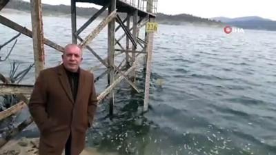 hassasiyet -  Demirköprü Barajı'nda korkutan görüntü