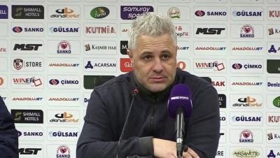 rektor - Gaziantep FK - Çaykur Rizespor maçının ardından - GAZİANTEP