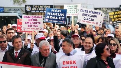 basin aciklamasi - Gaziemir Belediyesi memurlarından 'toplu sözleşmesi' eylemi - İZMİR