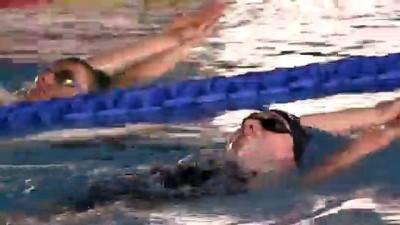 Hollandalı milli yüzücüler Erzurum'da güç depoluyor