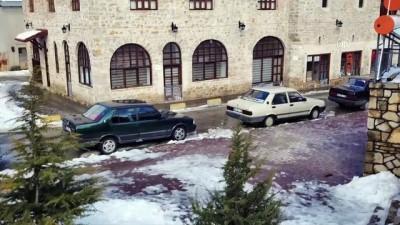 uttu - Kar manzarası büyülüyor - KARABÜK