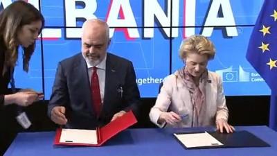 Uluslararası Bağışçılar Konferansı'nda Arnavutluk'a 1,15 milyar avro yardım taahhüdü - İSTANBUL