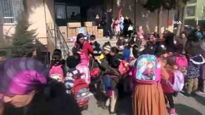 yardim kampanyasi -  Van'daki köy okuluna öğrencilerinden kırtasiye desteği