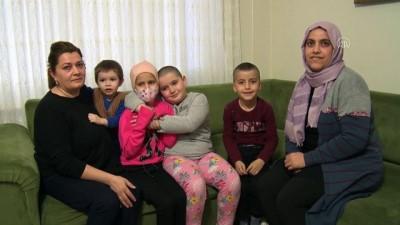 irak - Yalovalı küçük Senanur kanser olan arkadaşı üzülmesin diye saçını kazıttı - YALOVA Haberi