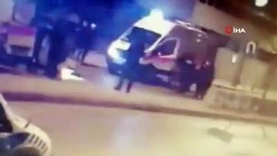 Bağdat Caddesinde otomobilin takla attığı kazanın yeni görüntüleri ortaya çıktı İzle