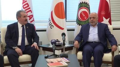 BBP Genel Başkanı Destici, Hak-İş'i ziyaret etti - ANKARA