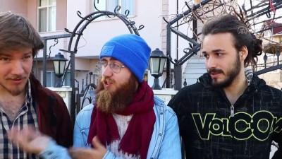 nani - Fransız 3 genç yürüyerek Mekke, Kudüs ve İstanbul'a gidiyor - TEKİRDAĞ