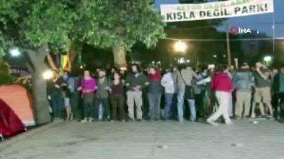 tutuklu sanik -  Gezi Parkı davası başladı