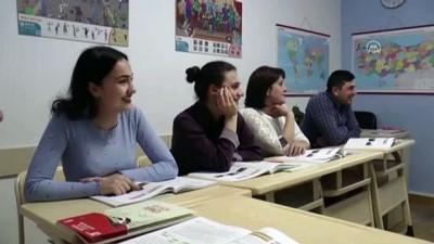 Gürcistanlılardan Türk dili ve kültürüne yoğun ilgi - TİFLİS