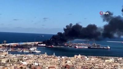 - Hafter güçlerinden Trablus limanına saldırı Haberi