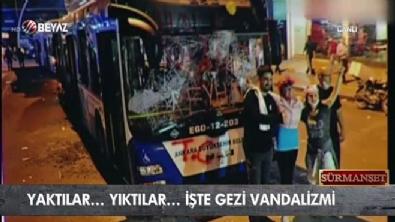 İşte Gezi vandalizmi!