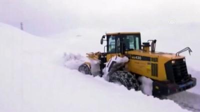 mahsur kaldi - Karda mahsur kalan 40 kişi kurtarıldı - SİİRT