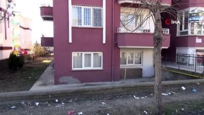 Öldürülen kadının evi sessizliğe büründü