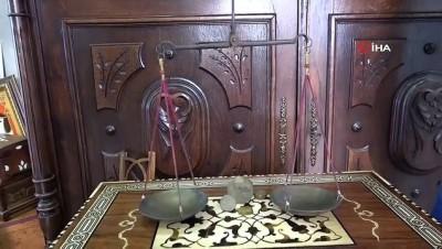 Padişahlar için kullanılan 160 yıllık antika teraziye müşteri aranıyor