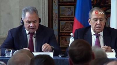 - Rusya Savunma Bakanı Şoygu: 'ABD, Suriye'deki petrol sahalarını yağmalıyor'