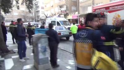 polis -  Şanlıurfa'da korkutan ev yangını