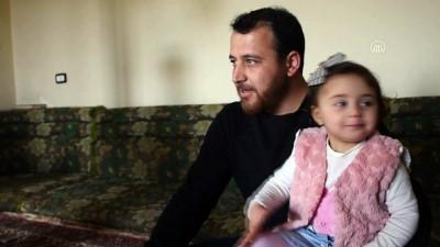 Suriyeli minik Selva, 6 aydır 'savaş oyunu' oynuyor (2) - İDLİB